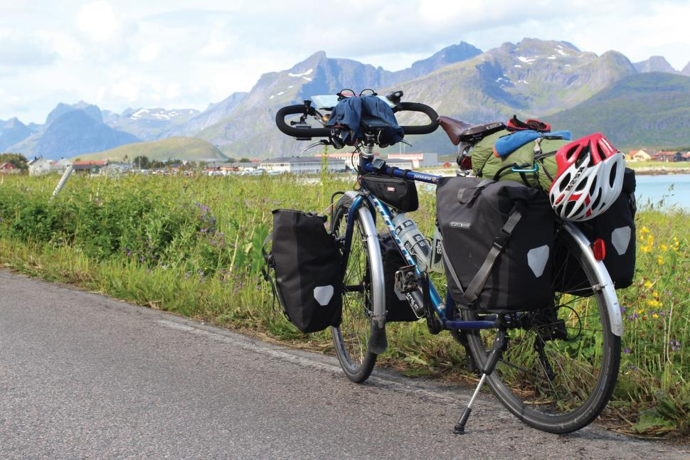 Spain to Norway on a Bike Called Reggie by Andrew P Sykes - Ramberg in Norway.jpg