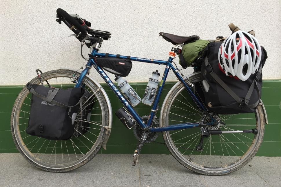 Spain to Norway on a Bike Called Reggie by Andrew P Sykes - Reggie the bike.jpg