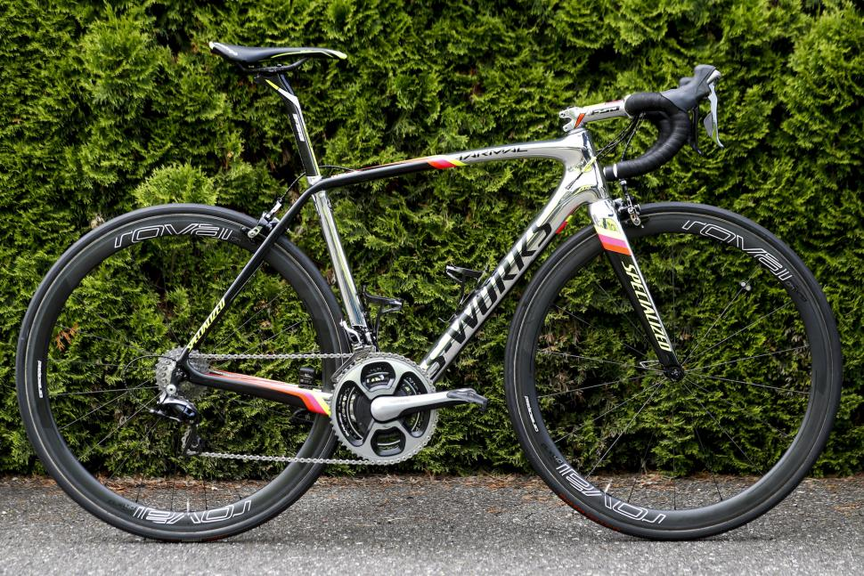 Pro Bike Alberto Contador S Chrome Specialized S Works Tarmac