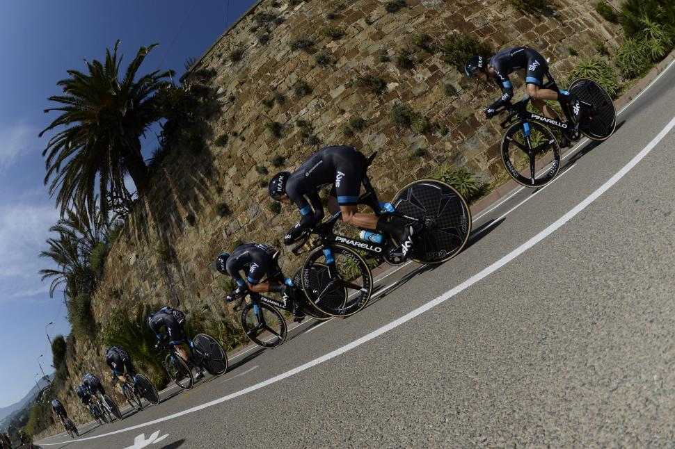 Ever fancied riding a Grand Tour team time trial with your ...
