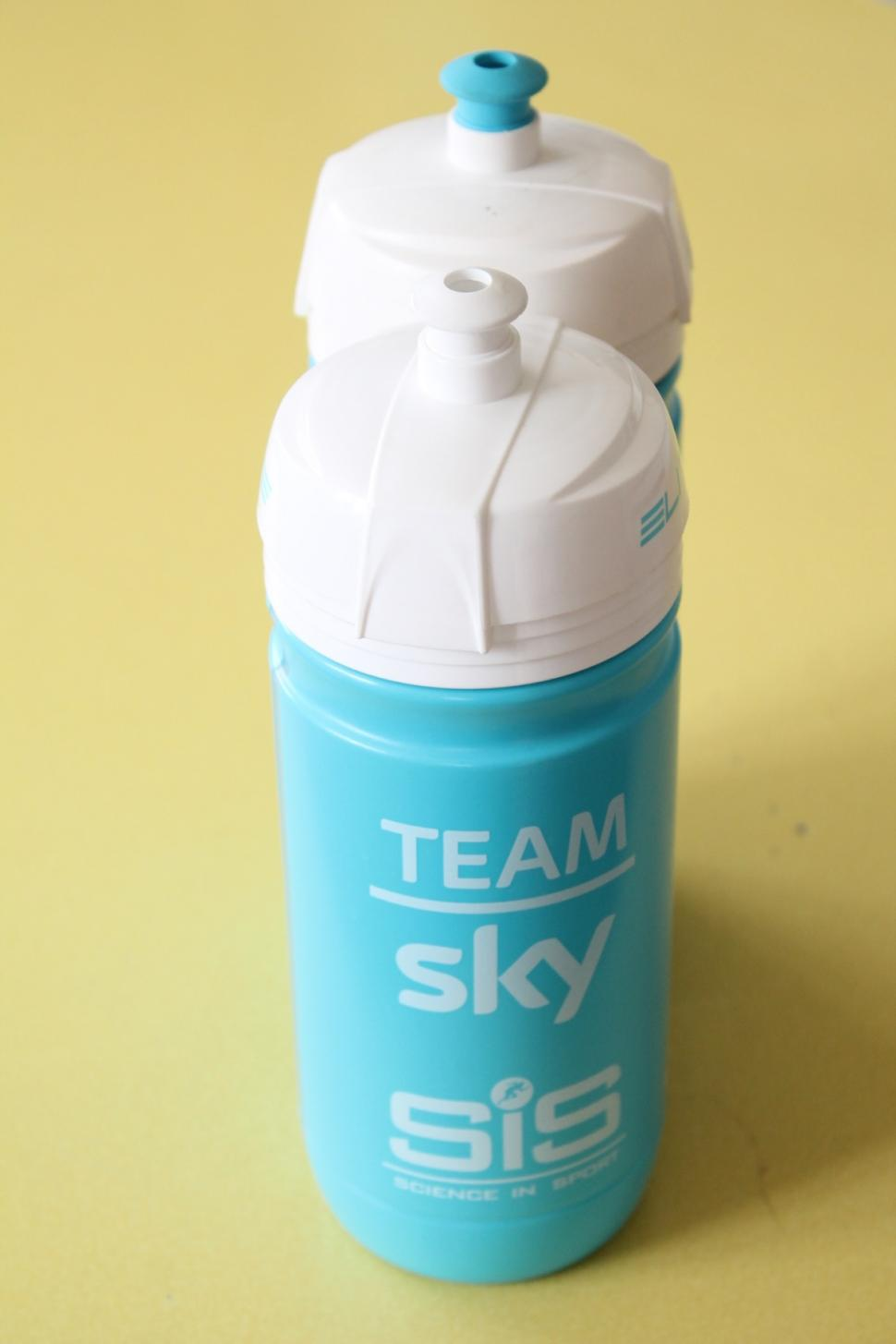 Team sky uses up to 35 000 drinks bottles per year