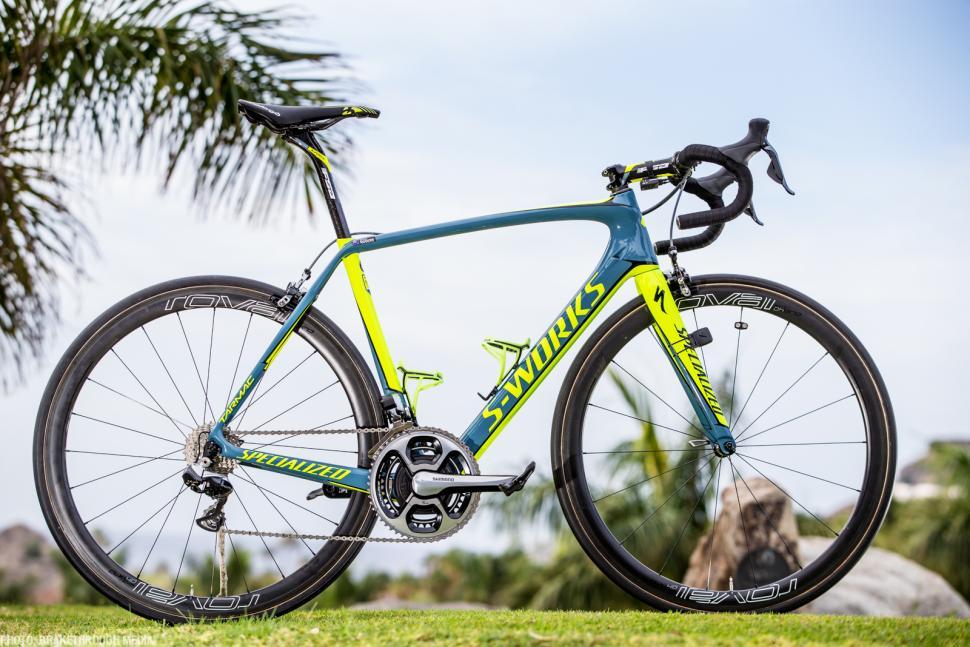 2016 Pro Bike Michael Rogers Tinkoff Specialized S Works Tarmac