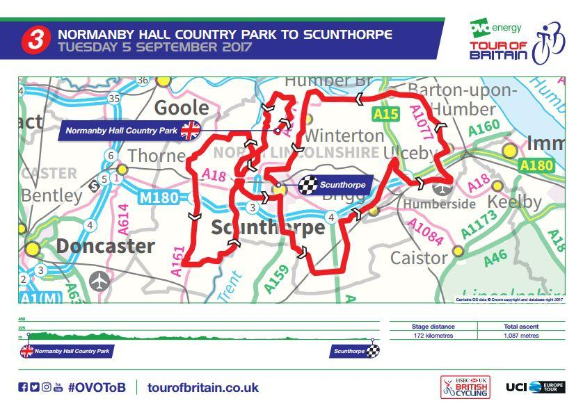 Tour of Britain to head from Edinburgh to Cardiff