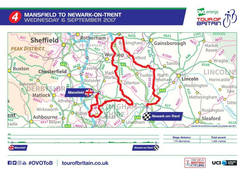 OVO Energy Tour of Britain route revealed