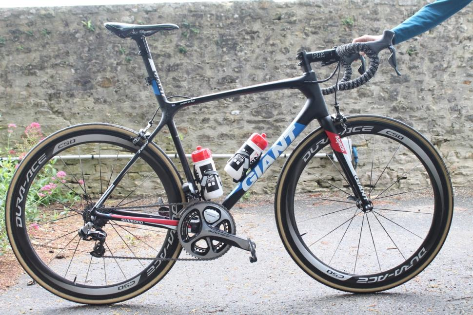 Tour Tech 2016: Laurens ten Dam's Giant TCR Advanced SL | road.cc