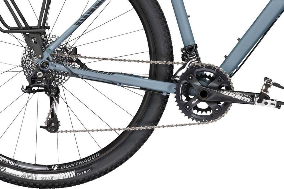 Трансмиссия гравийного велосипеда