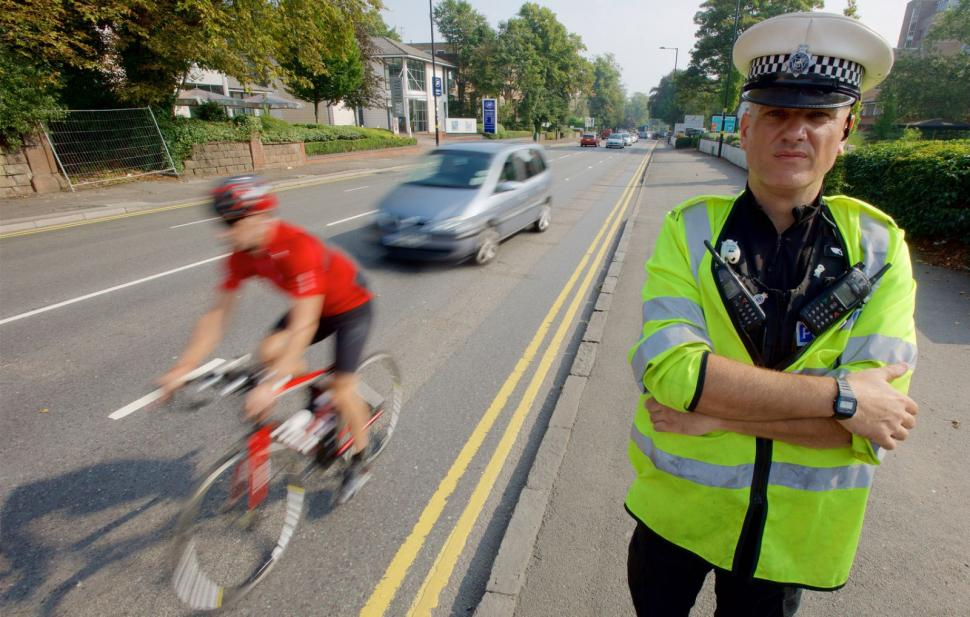 West Midlands Police close pass operation Mark Hodson and Steve Hudson