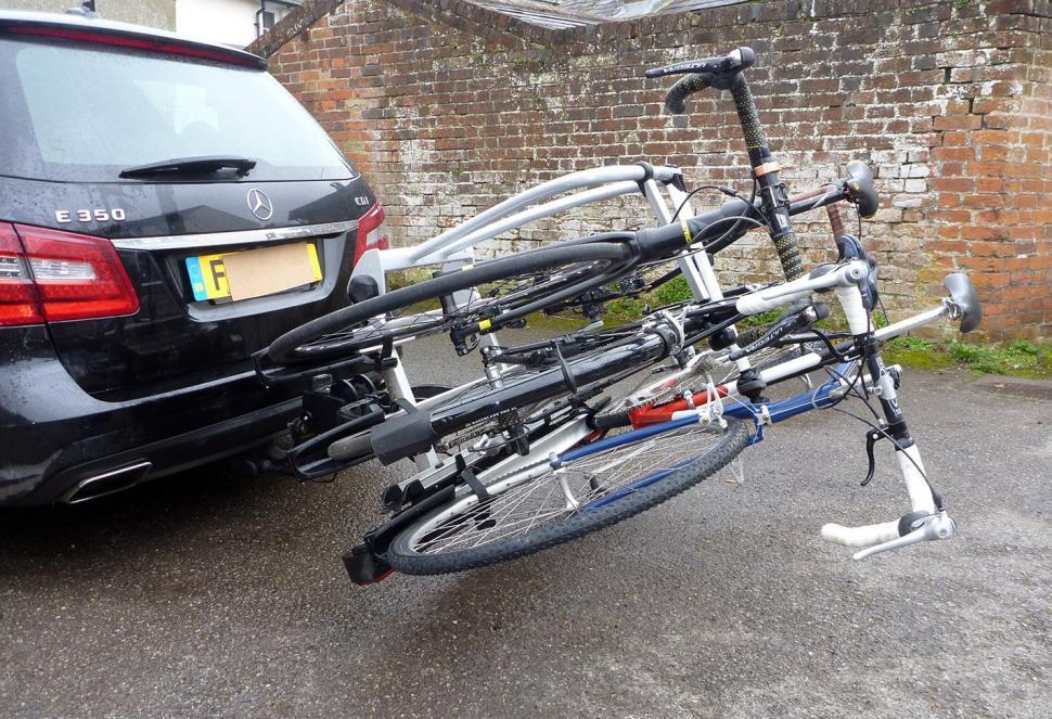 Review Whispbar Wbt31 3 Bike Tow Bar Carrier Road Cc