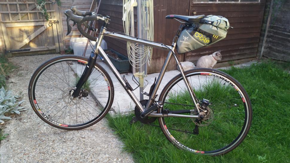 For Sale Kinesis Tripster Atr 60cm Complete Titanium Bike