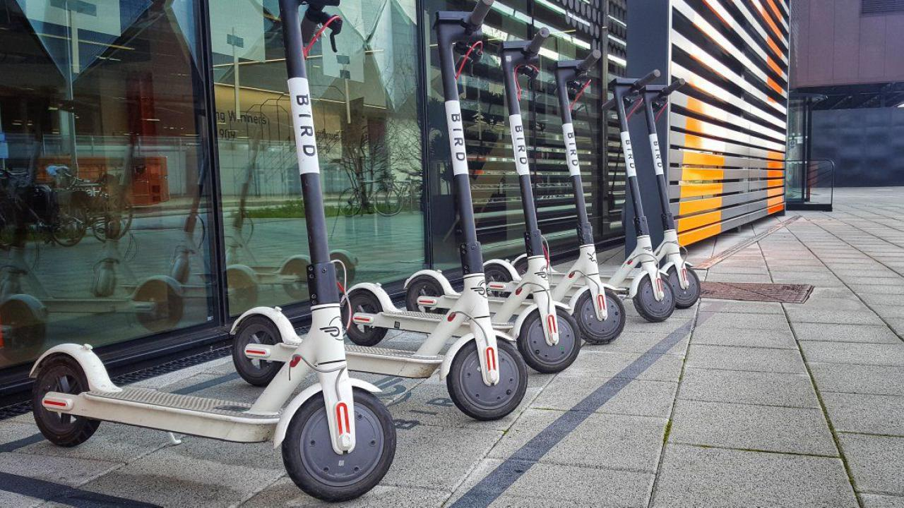 Ban on electric scooters on UK roads could end, says