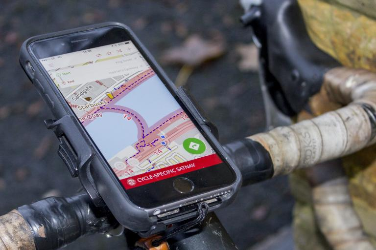 Bike Hub app - bars 2 © Carlton Reid