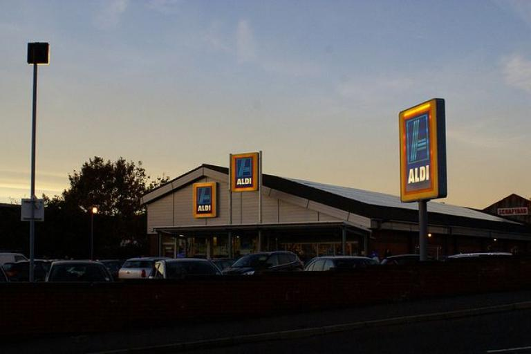 Aldi supermarket in Chorley (picture credit John Dickinson).JPG
