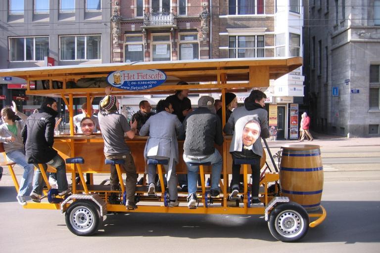 Beer bike (CC licensed by arielleps via Flickr).jpg
