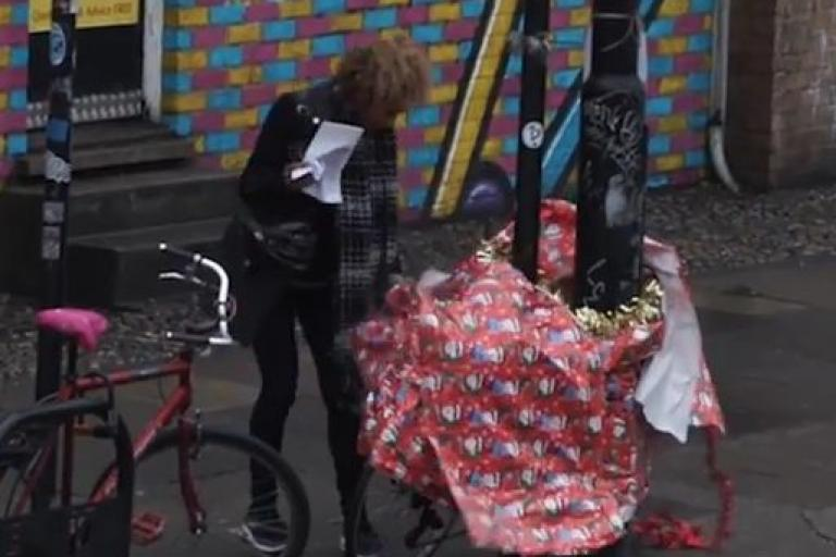 Bike Shack Leyton Christmas Makeover YouTube still.JPG