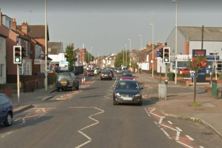 Bristol Road, Gloucester, before work was carried out (via StreetView).jpg