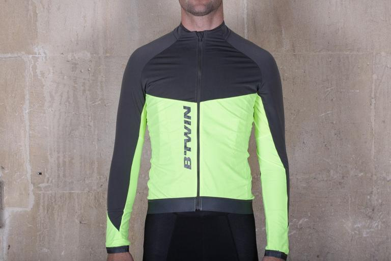 Review Dhb Classic Long Sleeve Thermal Jersey Marl Road Cc