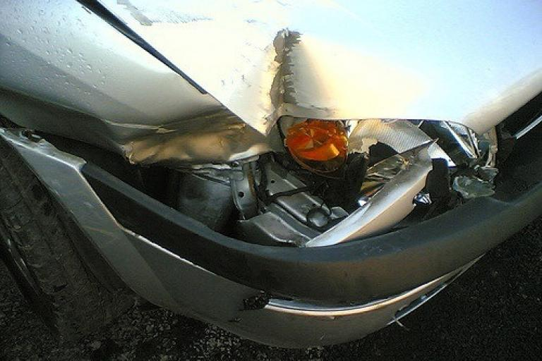 Car crash (CC licensed by stephalicious via Flickr).jpg