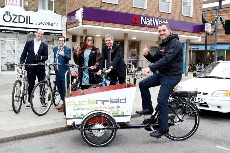 Chris Boardman backing Cycle Enfield (source Cycle Enfield on Facebook).jpg