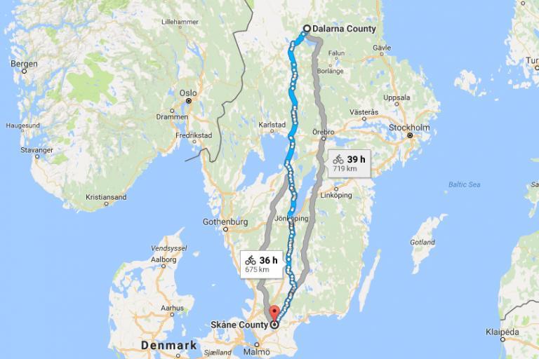 Dalarna to Skana Google Maps.PNG