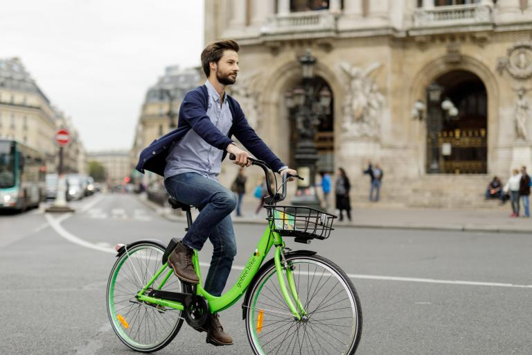 GoBee bike in Paris (company press picture).jpg