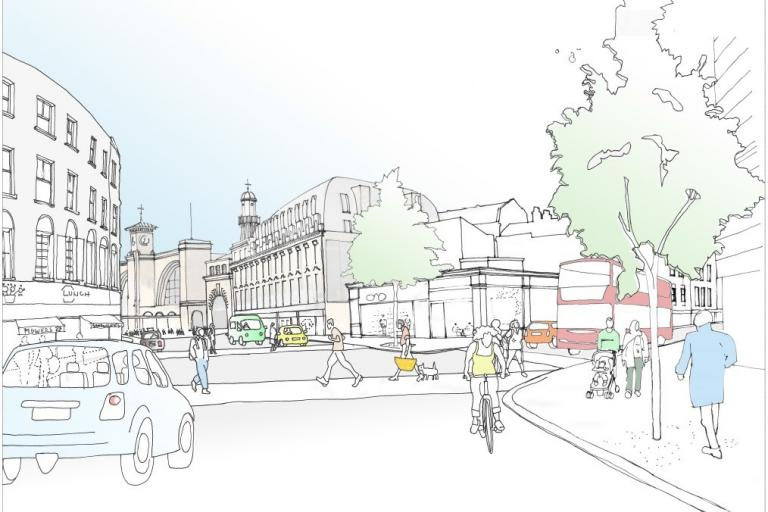 Grays Inn Road artists impression.jpg