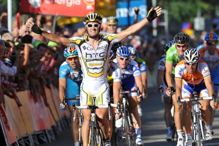 Columbia-HTC's Greg Henderson wins Stage 3 of the 2009 Vuelta in Venlo © Unipublic