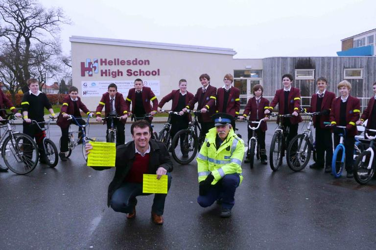 Launching new cycle policy at Hellesdon High[1].jpg