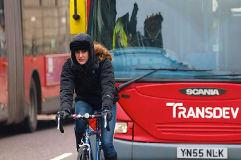 London bus and cyclist.jpg