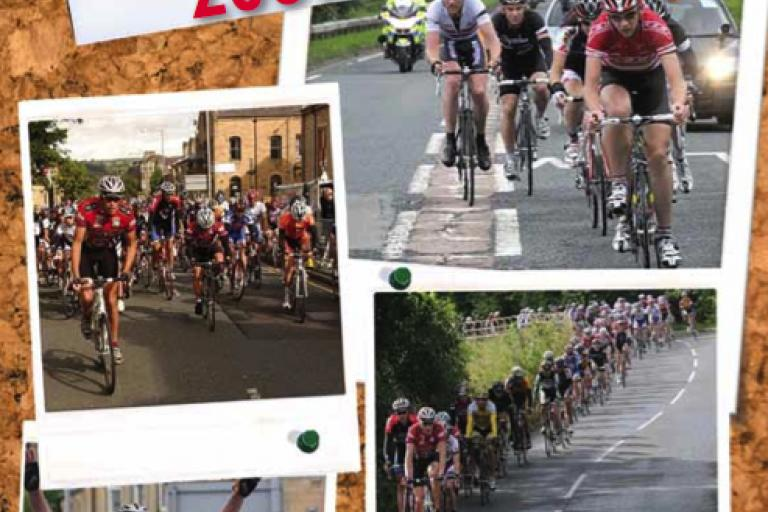 Tour of Pendle 2009 leaflet