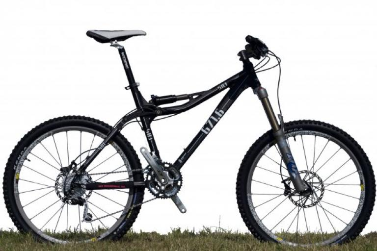 Pronghorn PR6 LT trail bike.