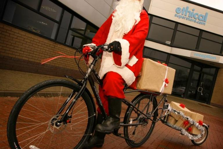 Santa on his bike.jpg