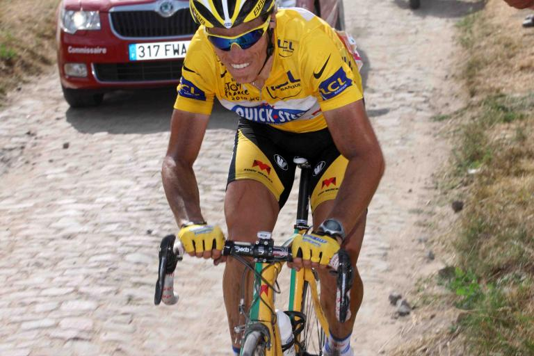 Sylvain Chavanel on Stage 3 of the 2010 Tour de France © PhotoSport International.jpg
