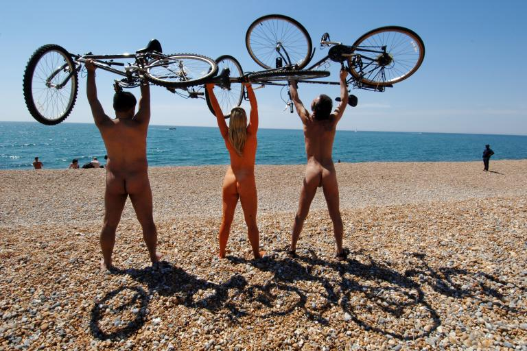 World Naked Bike Rides / Roger Bamber