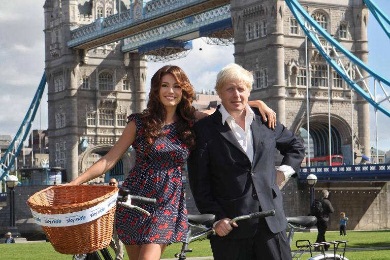 Boris and Kelly will be joined by tens of thousands for Sunday's London Sky Ride