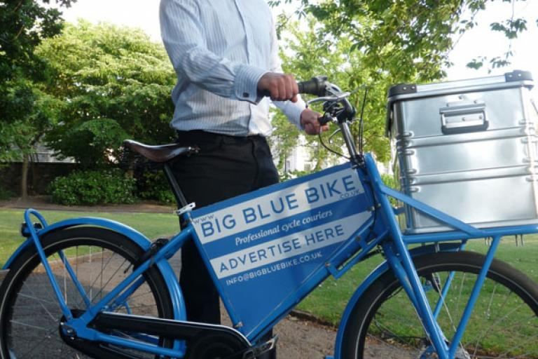 Big Blue Bike's Ben Allen