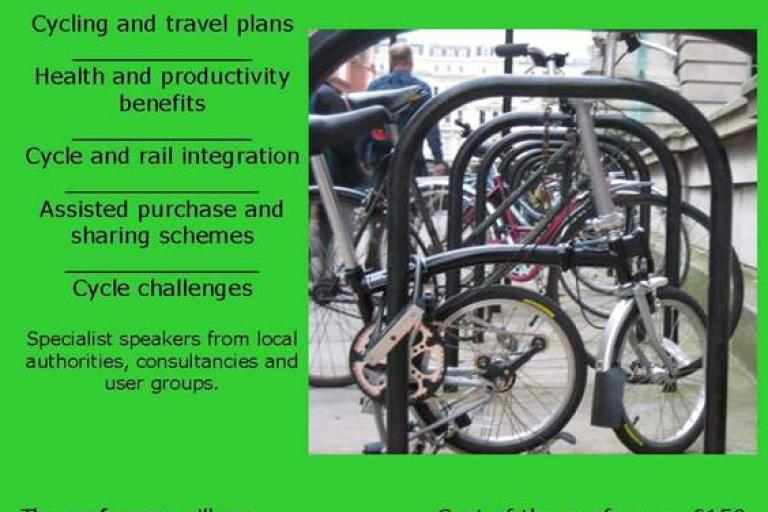 Encouraging Cycle Commuting one day conference 7 April