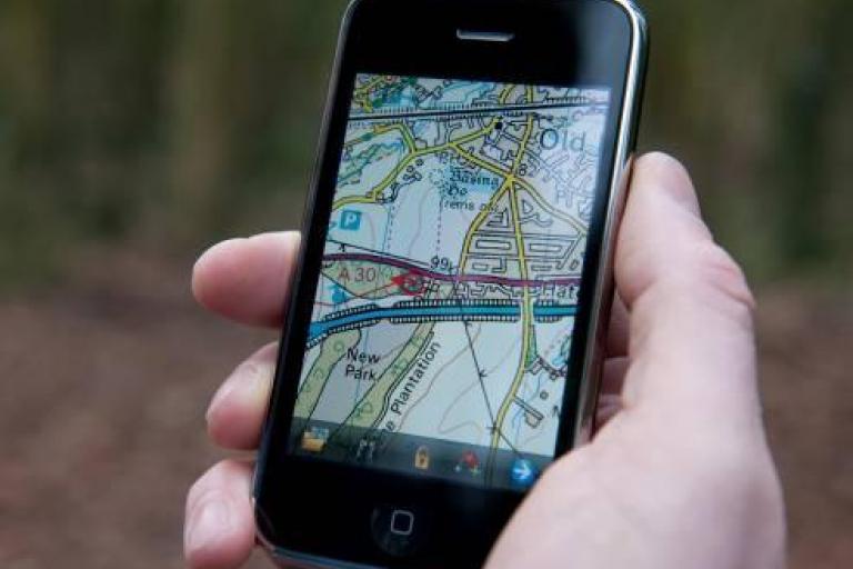 Memory Map iPhone app