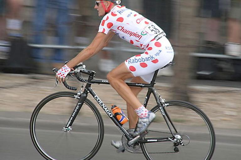Michael Rasmussen in the 2006 TdF