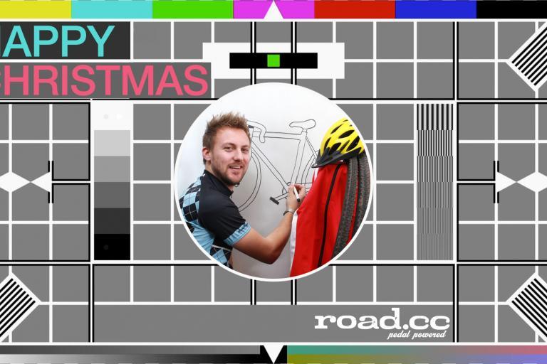 Christmas test card