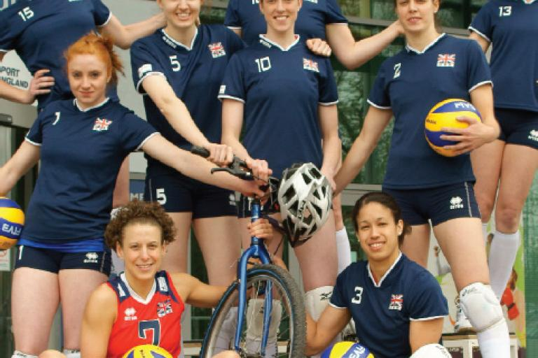 Volleyball GB womens team