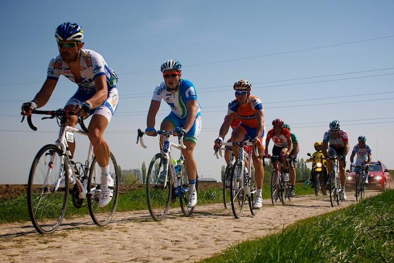 Paris-Roubaix 2011: Breakaway © Simon MacMichael.jpg