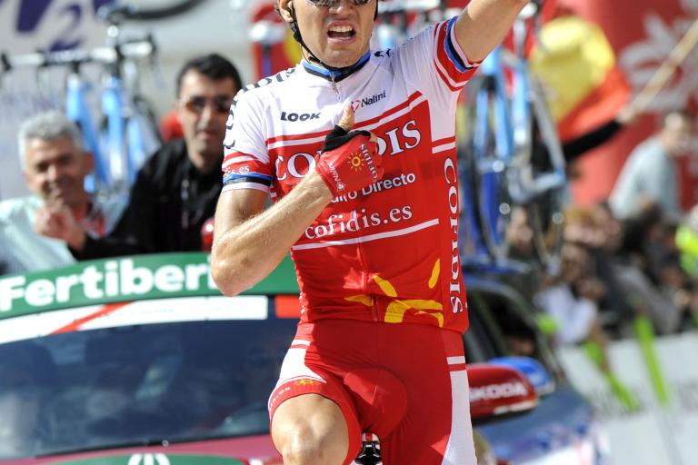 Rein Taaramae wins 2011 Vuelta Stage 14 (copyright: Tour of Spain/Graham Watson).jpg