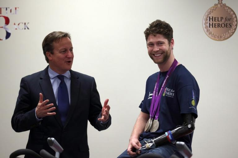 David Cameron and Jon-Allan Butterworth