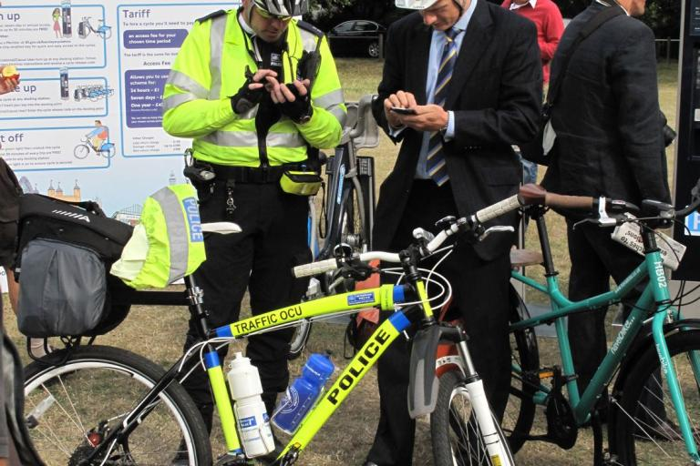 Barclays Cycle Superhighway CS7 launch
