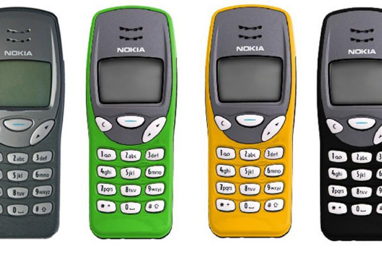 Nokia 3210 from back then