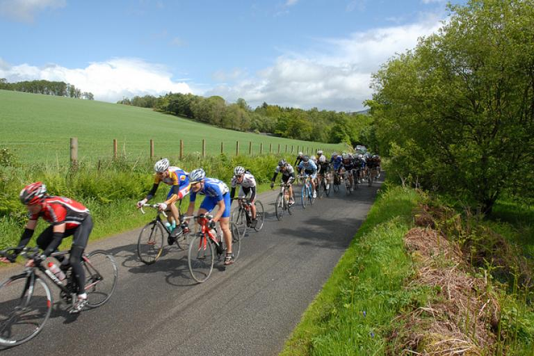 Road racing in Scotland