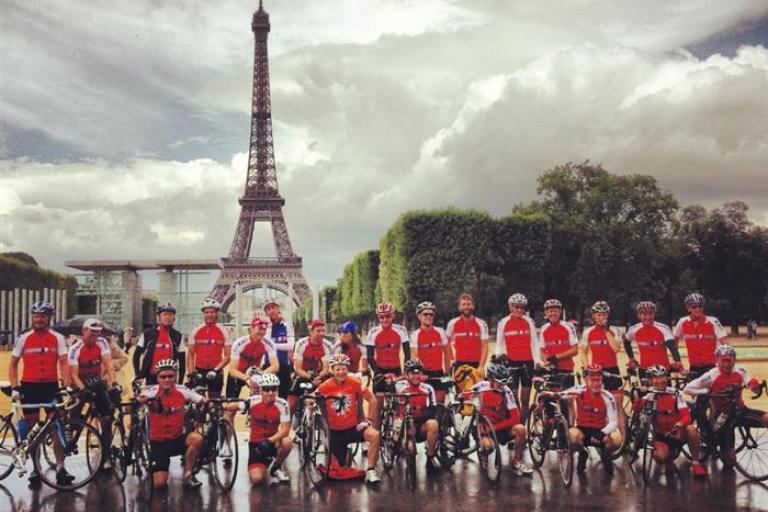 Tour de Force - Paris finish