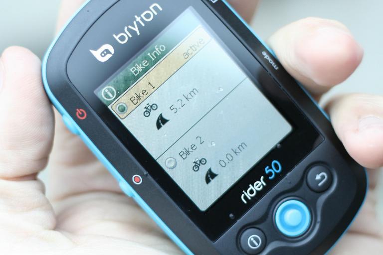 Bryton Rider 50 - in hand