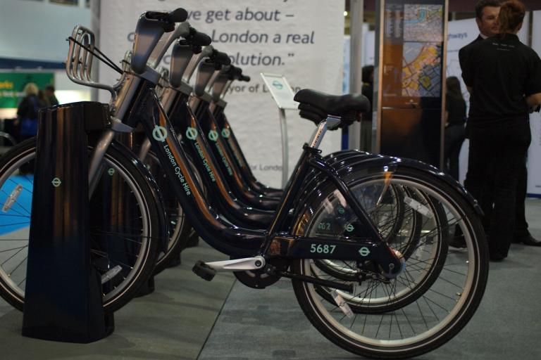London Cycle Hire bikes