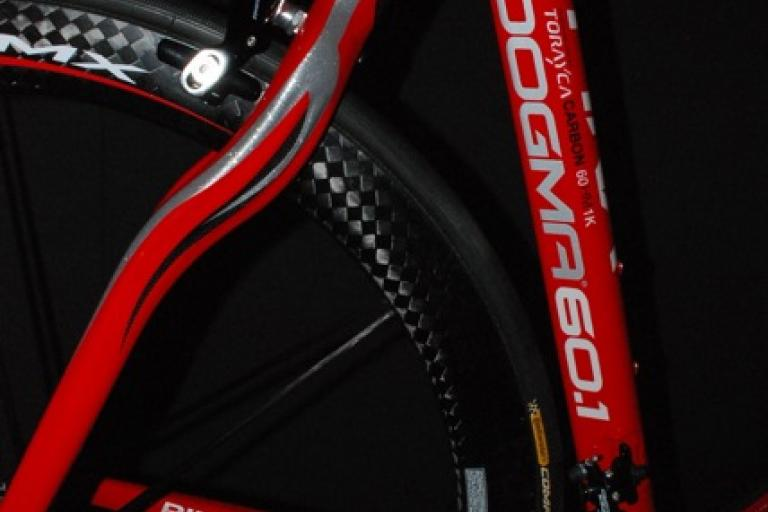 Pinarello Dogma back end